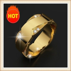 DIAMOND, wedding ring, Gifts, gold