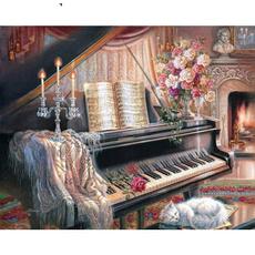 diyoilpainging, Decor, Gifts, decoration oil painting