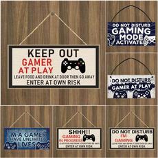 Funny, gamergift, Home Decor, notdisturbimgaming