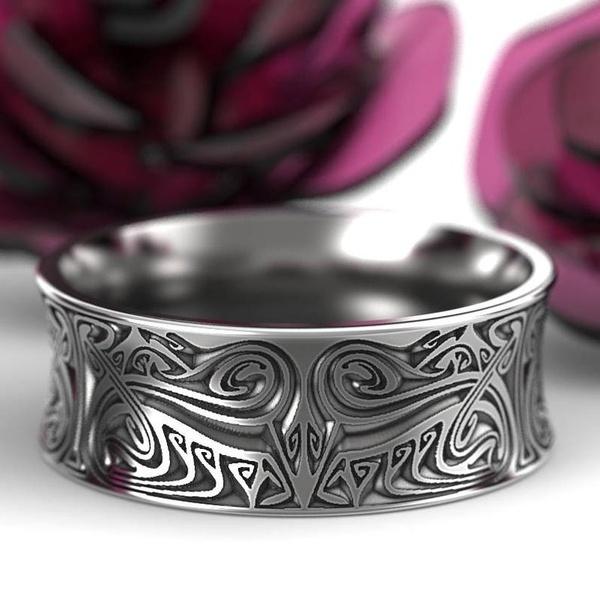 Sterling, ringsformen, wedding ring, 925 silver rings