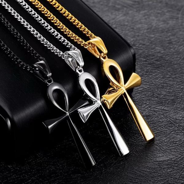 Necklace, amulet, necklaces for men, punk necklace