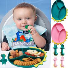 Feeding, forkandspoon, Dinosaur, dinnerwareset