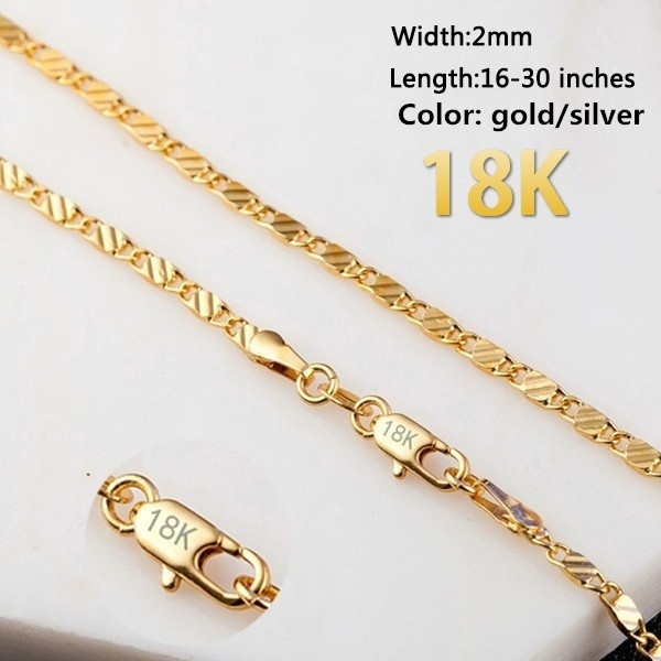 Chain Necklace, necklaces for men, Jewelry, gold