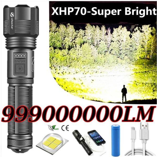 Flashlight, Batteries, Outdoor, led