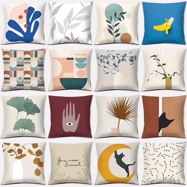 Plants, Fashion, Office, Pillowcases