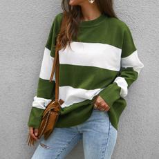 blouse, splice, sweater coat, Long Sleeve