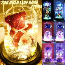ledhandmaderoselamp, led, bearflower, Cover