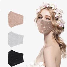 Bling, sequinmask, faceshield, Masks