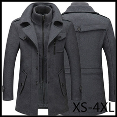 woolen, blousonhomme, Fashion, trenchcoatformen