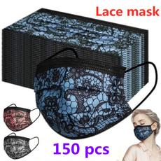 Lace, Fashion, Masks, kn95