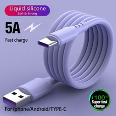 usb, Cable, Iphone 4, Silicone
