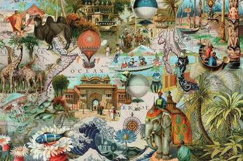 oceania, 3000, Piece, Puzzle