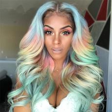 wig, rainbow, Medium, Co