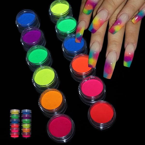 nail decoration, Glitter, nailglitter, Beauty