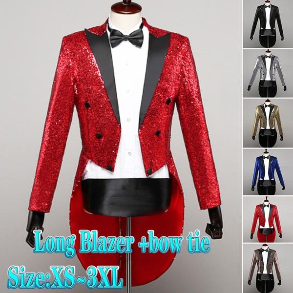swallowtailed, singer, Fashion, Blazer