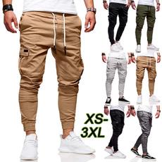 drawstringpant, elastic waist, Waist, Casual pants