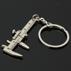 Key Chain, Chain, ruler, slideruler