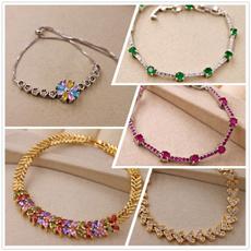 weddingparty, Charm Bracelet, Flowers, Jewelry Accessory