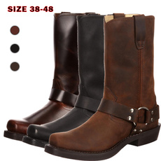 midcalfboot, Leather Boots, Winter, Cowboy
