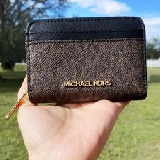 case, Wallet, black, Zip