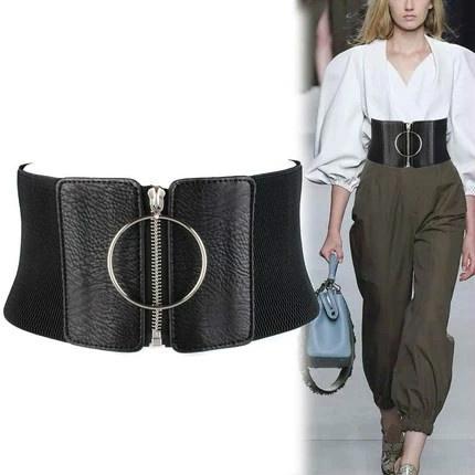 wide belt, Leather belt, leather strap, Dress