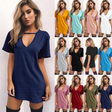 Summer, Fashion, Sleeve, Dress