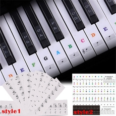 pianosticker, 88keypianosticker, Stickers, pianostickerforkidsbeginner