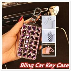 case, crystalkeychain, Bling, Key Chain