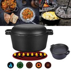 outdoorcookware, oven, Cooker, doubleskillet