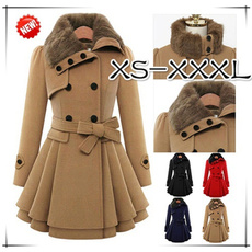woolen, Jacket, Plus Size, winter coat