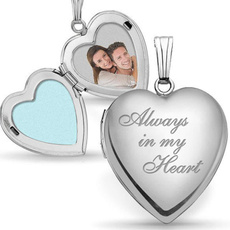 trendy necklace, Heart, Jewelry, Jewelery & Watches