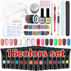 manicure tool, polygel, uv, uvbuildinggel