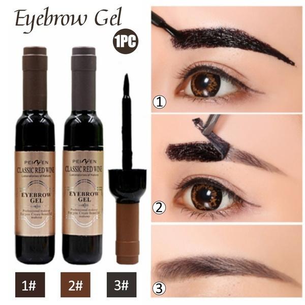 Eyelashes, tattoo, blackmascara, Beauty