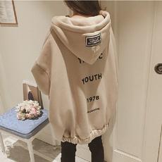 hoodie womens, korea, velvet, Winter
