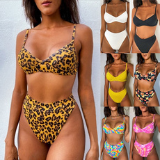 bikinisplitswimsuit, bathing suit, printedswimsuit, Womens Swimsuit