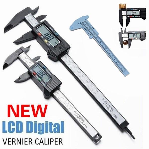 lcdverniercaliper, Fiber, Jewelry, verbiermeasurement