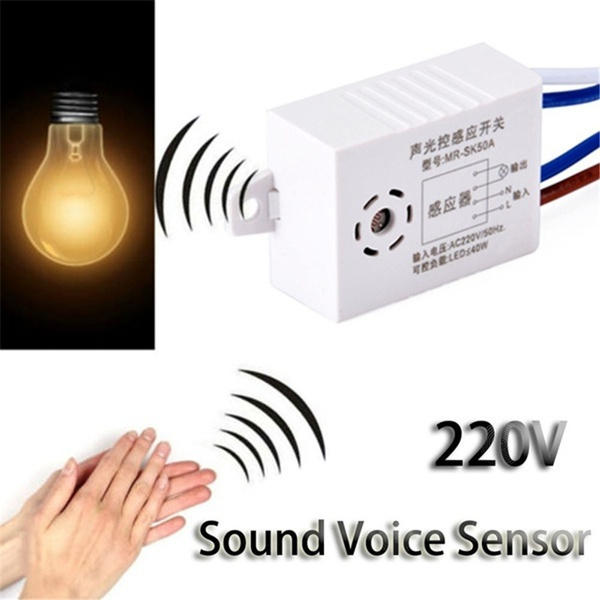 lights, lightswitch, soundvoicesensor, soundvoicesensormodule
