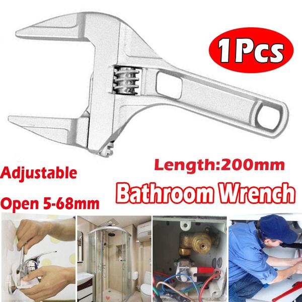 Bathroom, Adjustable, wrenchspannertool, Aluminum