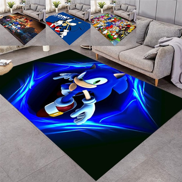 kidsrug, sonic, Home Decor, cartooncarpet