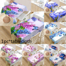 butterflytablecloth, Flowers, tischdecke, picnictablecloth