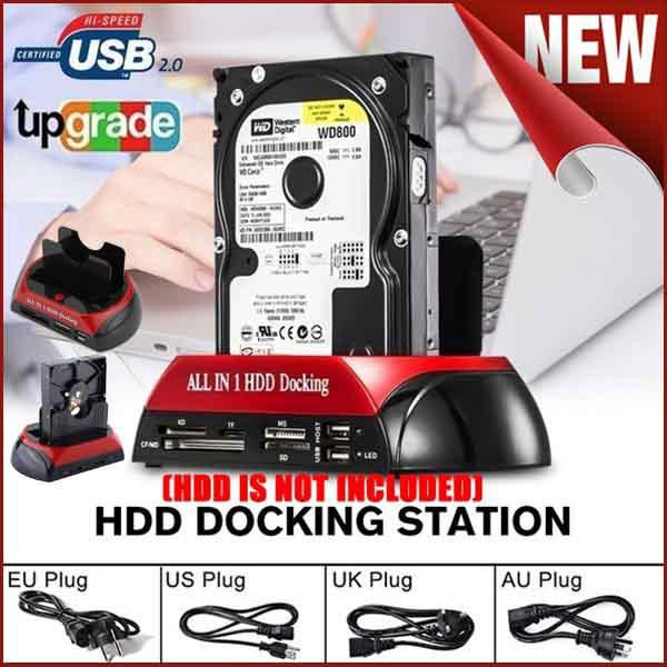 Docking Station, usb, usb30hddharddrivediskdock, Hard Drives