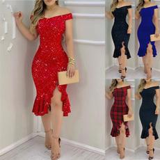 dressforwomen, Moda, ruffle, Evening Dress