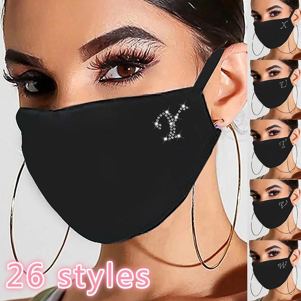 masksforcoronavirusprotection, womenmask, Cotton, sequinmask