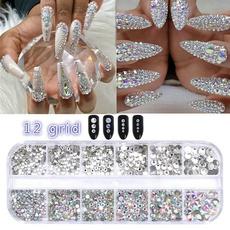 Nails, DIAMOND, nailglitter, nailrhinestone