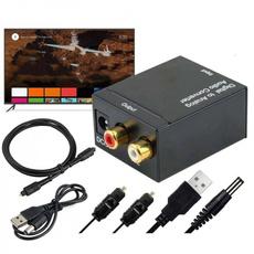 digitalaudio, opticalaudioadapter, coaxialtoslinkanalog, Adapter