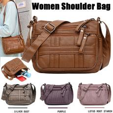 women bags, Casual bag, crossbodybagwomen, leather