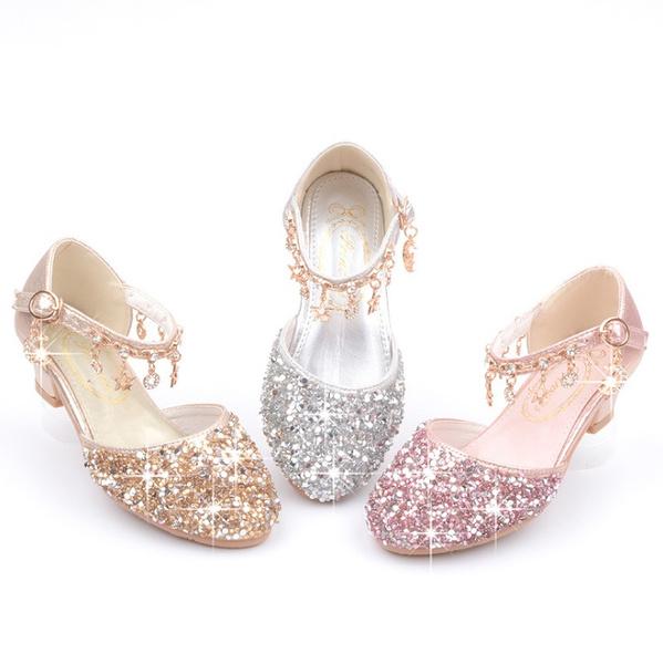 Beautiful, girlsplatformpump, gold, princessshoe