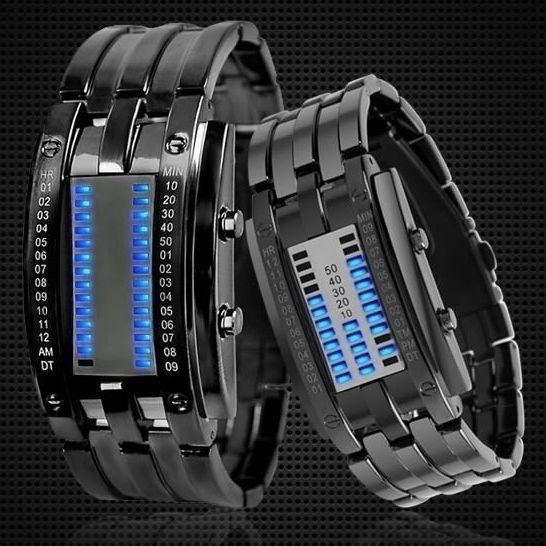 Blues, LED Watch, led, Waterproof Watch