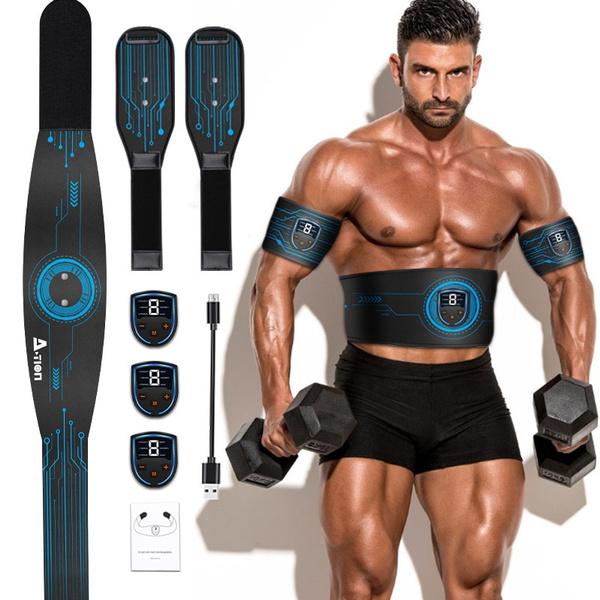 em, abdominalexerciser, led, Fitness