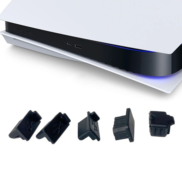 antidustcoverdustproofplug, Console, forps5gameconsoleaccessoriespart, usbandhdmport